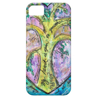 Tree of growth case for the iPhone 5