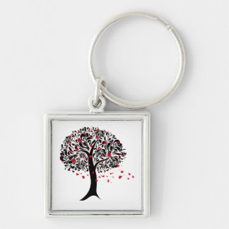 Tree of Hearts Key Ring