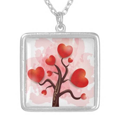 Tree of Hearts Necklace