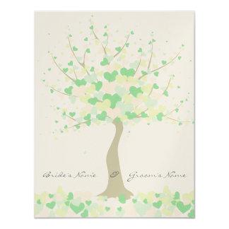 Tree Of Hearts - Spring/Summer Wedding Invitation