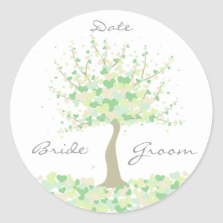 Tree of Hearts - Spring/Summer Wedding Stickers
