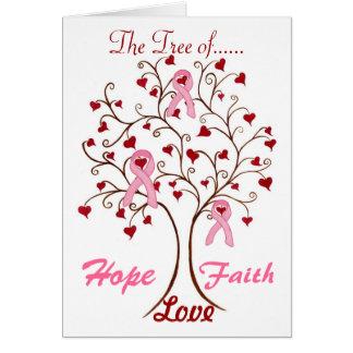 Tree of Hope, Love & Faith - Card