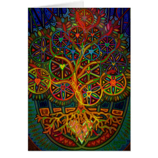 tree OF knowledge digitally - 2012 Card
