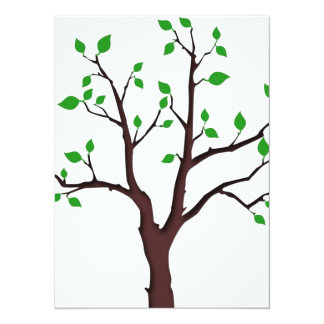 Tree of Life 14 Cm X 19 Cm Invitation Card