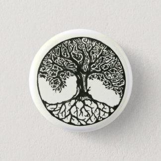 Tree Of Life 3 Cm Round Badge