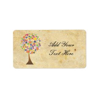 Tree of Life Address Label