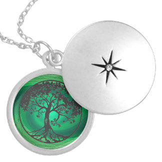 Tree of Life: As Above So Below Silver Plated Necklace