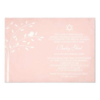 Tree of Life Baby Girl Naming Day Invite