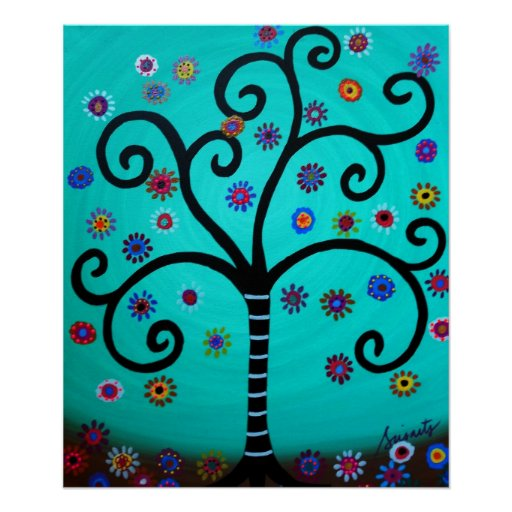 TREE OF LIFE BAR BAT MITZVAH POSTERS