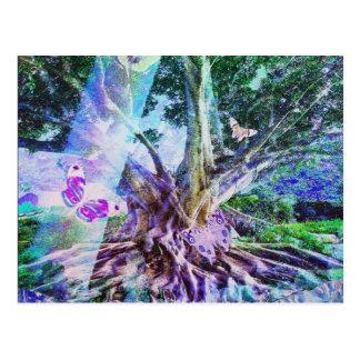 Tree of Life Beauty Postcard