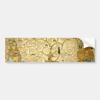 Tree of Life by Gustav Klimt Bumper Sticker