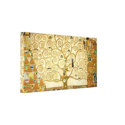 Tree of Life by Gustav Klimt Stretched Canvas Print