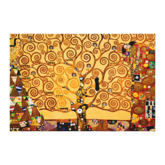 Tree of Life by Gustav Klimt Large Fine Art Canvas Print