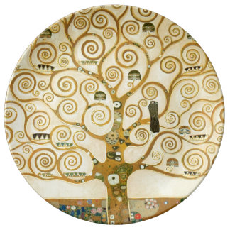 Tree of Life by Gustav Klimt Plate