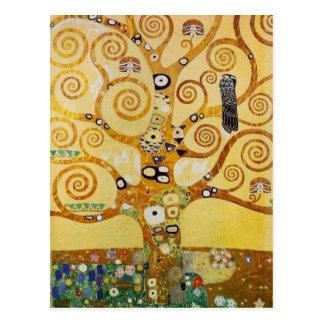 Tree of Life by Klimt Postcard