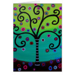 Tree of Life by Prisarts Card