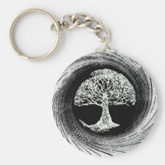 Tree of Life Calmness Within Key Ring