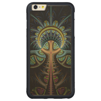 Tree of Life Carved Maple iPhone 6 Plus Bumper Case