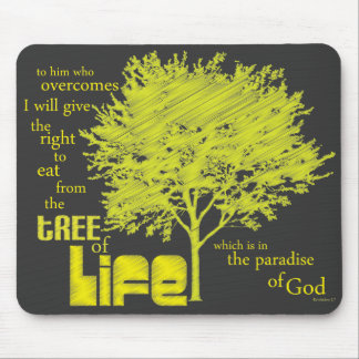 Tree of Life Christian Scripture mousepad/mousemat