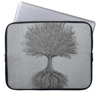 Tree of Life Chrome 2 Laptop Sleeve