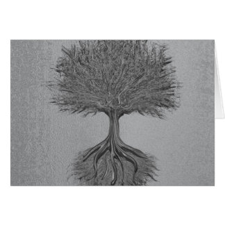 Tree of Life Chrome 2 Note Card