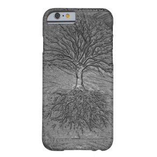 Tree of Life Chrome Barely There iPhone 6 Case