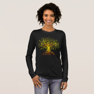 Tree of Life Colorful Long Sleeve T-Shirt