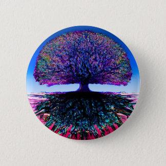 Tree of Life Creative 6 Cm Round Badge