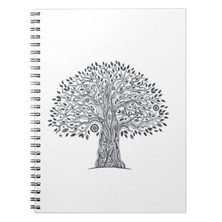 Tree Of Life Doodle Notebook