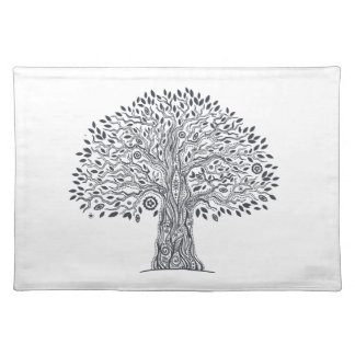 Tree Of Life Doodle Place Mats