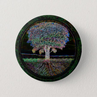 Tree of Life Excellence 6 Cm Round Badge