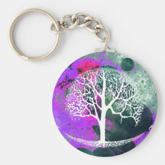 Tree of Life Galaxy Key Ring