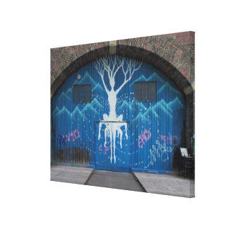 Tree Of Life Graffiti Canvas Print