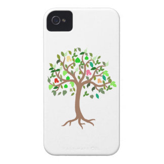 Tree of Life Green & Tan Cellphone Cover