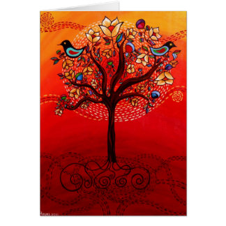 """Tree of Life"" Greeting Card CatherineHayesArt"