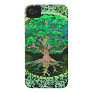 Tree of Life Health and Prosperity iPhone 4 Case