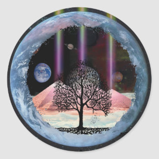 Tree of Life Inner Truth Classic Round Sticker