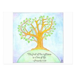 Tree of Life Inspirational Postcard