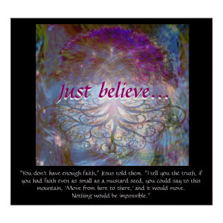 Tree of Life Just Believe Poster