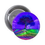 Tree of Life Live Your Dream 6 Cm Round Badge