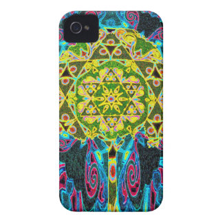 Tree of Life Mandala by Amelia Carrie iPhone 4 Case