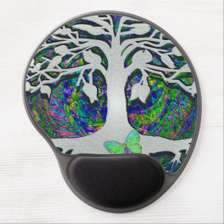 Tree of Life New Beginnings by Amelia Carrie Gel Mouse Pad