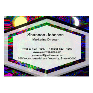 Tree of Life Night and Day Business Card Templates