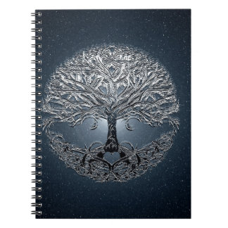 Tree of Life Nova Blue Notebooks
