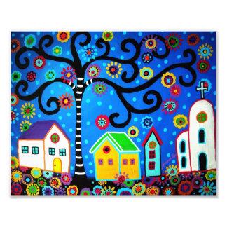 Tree of Life Painting Art Photo