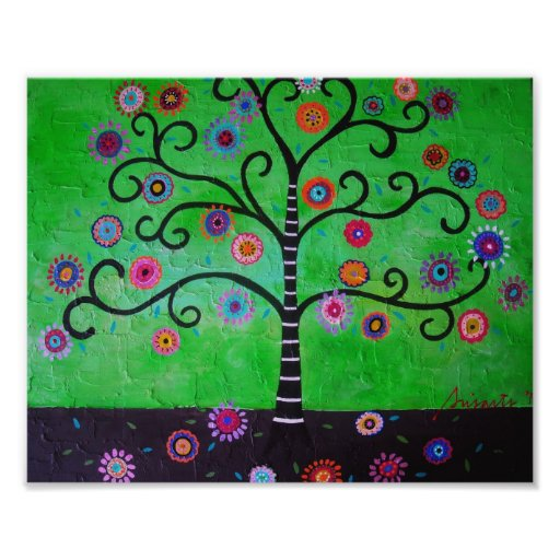 Tree of Life Painting Photographic Print
