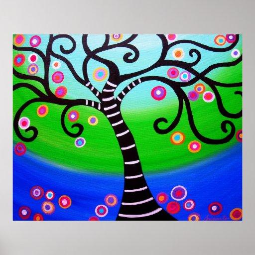 TREE OF LIFE PAINTING PRINT