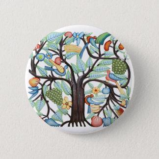 TREE of LIFE pastel 6 Cm Round Badge