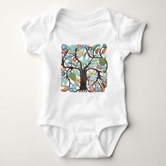 Tree of Life - pastel Baby Bodysuit
