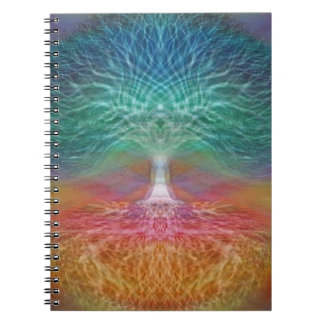 Tree of Life Peace of Mind Spiral Notebook